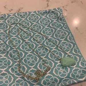 Kendra Scott - Isla necklace in mint